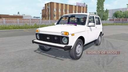 Lada 4x4 (21214) 2009 para Euro Truck Simulator 2