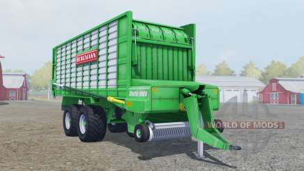 Bergmann Shuttle 900 K lime green para Farming Simulator 2013