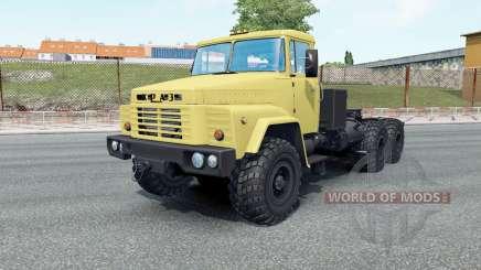 KrAZ-260V suas rodas para Euro Truck Simulator 2