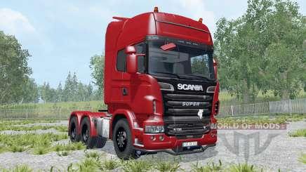 Scania R730 Topline para Farming Simulator 2015