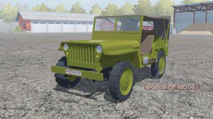 Willys MB 1942 para Farming Simulator 2013