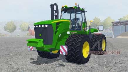 John Deere 9630 twin wheels para Farming Simulator 2013
