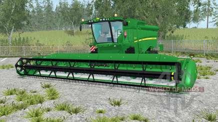 John Deere S690i realistic sound engine para Farming Simulator 2015