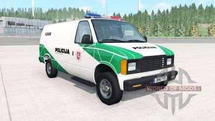 Gavril H-Series Lithuanian Police v1.2 para BeamNG Drive