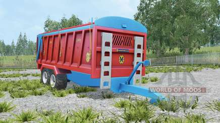 Marshall QM-16 amaranth red para Farming Simulator 2015