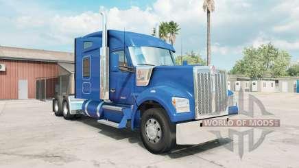 Kenworth W990 Mid-Roof Aerodyne Sleeper para American Truck Simulator