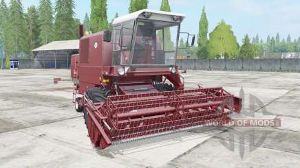 Bizon Super Z056 rose vale para Farming Simulator 2017