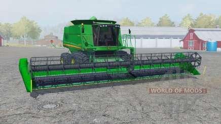 John Deere 9770 STS straw chopper para Farming Simulator 2013