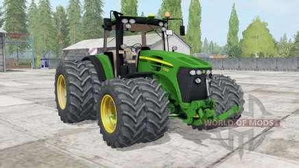 A John Deere 7930 ƫwin rodas para Farming Simulator 2017