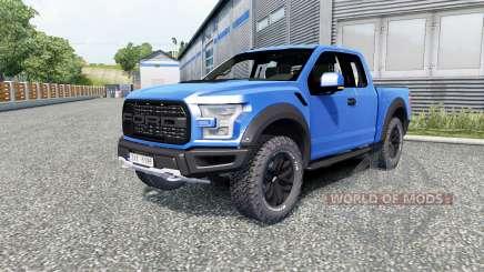 Ford F-150 Raptor 2017 para Euro Truck Simulator 2