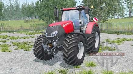 Case IH Optum 300 CVX warning signs para Farming Simulator 2015