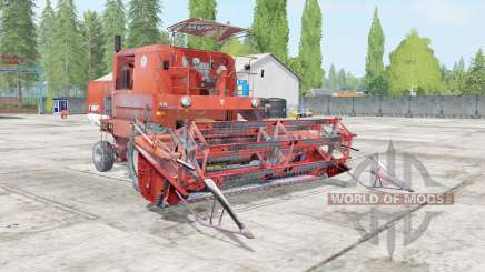 Bizon Super Z056 outrageous orange para Farming Simulator 2017