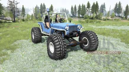 Willys CJ-2A TTC para MudRunner