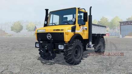 Mercedes-Benz Unimog U1450 (Br.427) tipper para Farming Simulator 2013