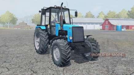 MTZ-1221 Bielorrússia trator carregador frontal para Farming Simulator 2013