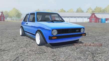 Volkswagen Golf GTI 1976 para Farming Simulator 2013