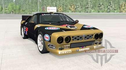 Lancia Rally Group B (SE037) para BeamNG Drive