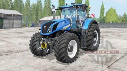 New Holland T7 warning signal para Farming Simulator 2017