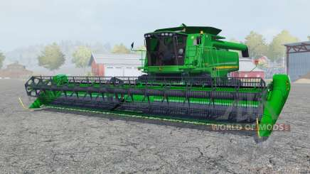John Deere 9770 STS pantone green para Farming Simulator 2013