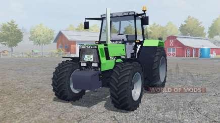 Deutz-Fahr AgroStar 6.31 added wheels para Farming Simulator 2013