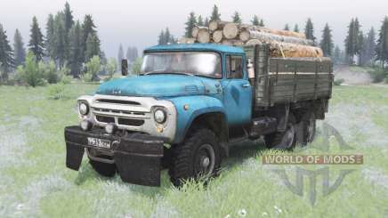 ZIL-130 6x6 offroad para Spin Tires