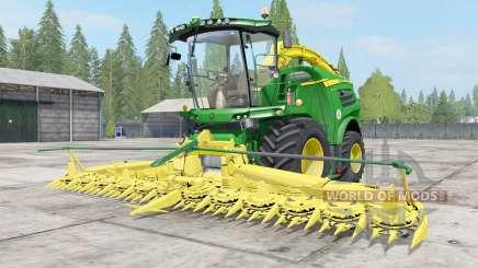 John Deere 8000 Michelin tires para Farming Simulator 2017
