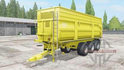 Krampe Big Body 900 S multicolor para Farming Simulator 2017