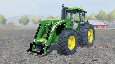 A John Deere 4455 fronƫ carregador para Farming Simulator 2013