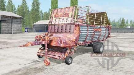 Pottinger EuroBoss 330 T rostig para Farming Simulator 2017