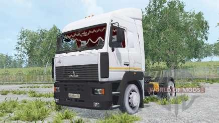 MAZ-5440А8-370-031 para Farming Simulator 2015