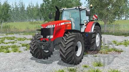 Massey Ferguson 8737 vivid red para Farming Simulator 2015