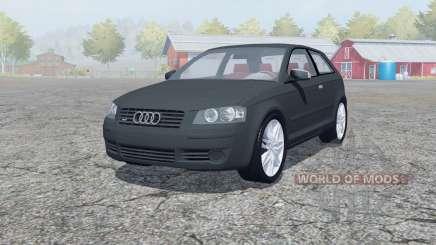 Audi A3 3.2 quattro (8P) 2003 para Farming Simulator 2013