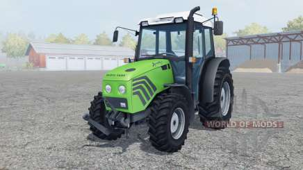 Deutz-Fahr Agroplus 77 moderate lime green para Farming Simulator 2013
