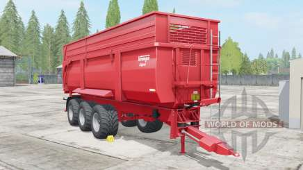 Krampe Big Body 900 S para Farming Simulator 2017