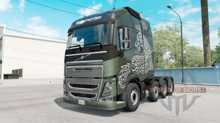 Volvo FH16 Globetrotter para American Truck Simulator
