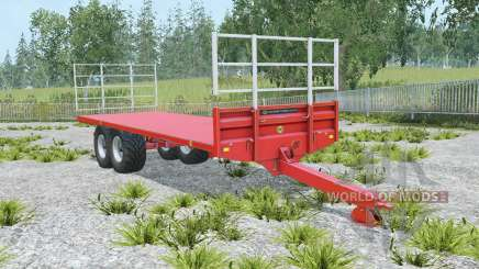 Marshall BC-25 coral red para Farming Simulator 2015