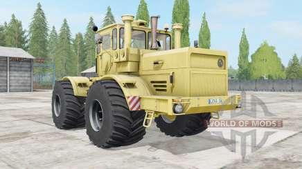 Kirovets K-700A macio cor amarela para Farming Simulator 2017