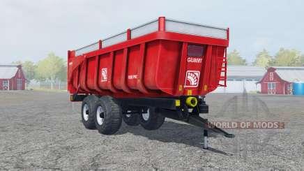 Gilibert 1800 Pro pigment red para Farming Simulator 2013