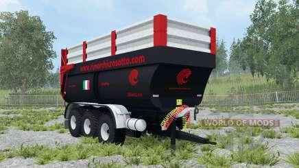 Crosetto CMR180 dynamic leaf springs para Farming Simulator 2015