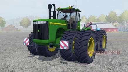 John Deere 9400 north texas green para Farming Simulator 2013