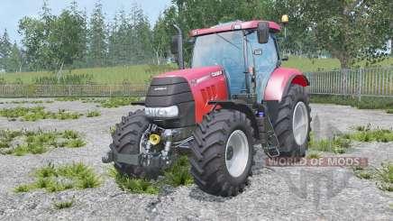 Case IH Puma 160 CVX real engine para Farming Simulator 2015