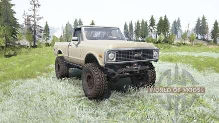 Chevrolet K10 1972 para MudRunner