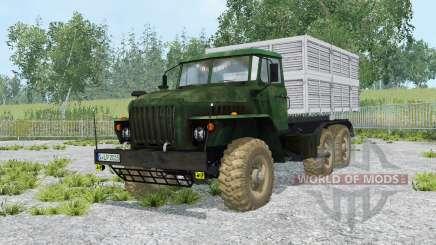 Ural-5557 e o trailer GKB-8350 para Farming Simulator 2015