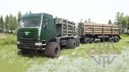 O Yamal-6 6x6 2013 para MudRunner