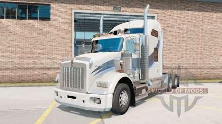 Kenworth Т800 AeroCab Dorminhoco para American Truck Simulator