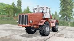 Kirovets K-700 a moderadamente cor vermelha para Farming Simulator 2017