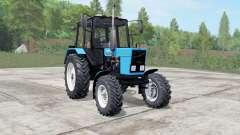 MTZ-82.1 Bielorrússia azul Okas para Farming Simulator 2017
