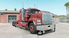 Mack Super-Liner light carmine pink para American Truck Simulator