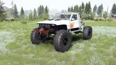 Jeep Comanche (MJ) crawler para MudRunner