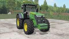 John Deere 7270R-7310R choice wheels para Farming Simulator 2017